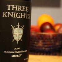 Three Knights Russian River Merlot 2006
