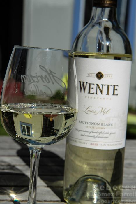 Wente Sauvignon Blanc Louis Mel Estate 2013