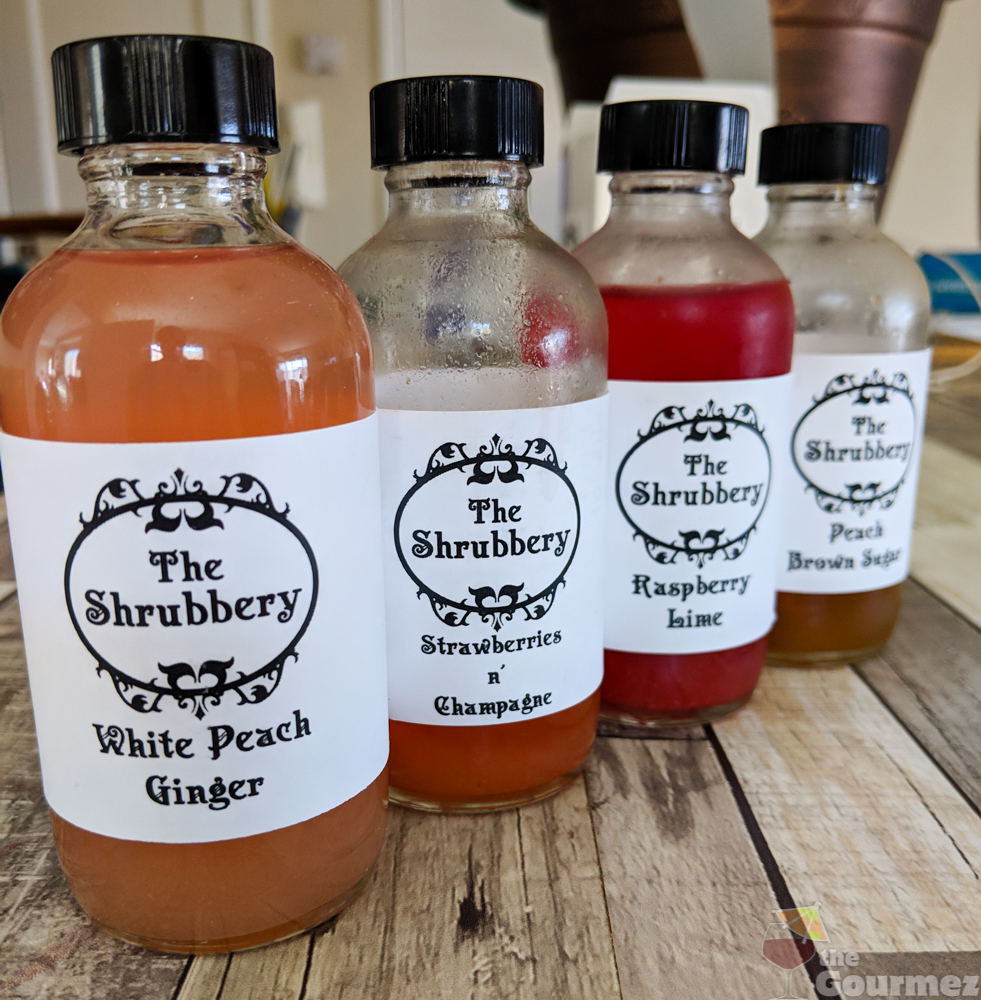 The Shrubbery's Shrubs! Aka, the Joy of Drinking Vinegars