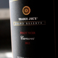 Trader Joe's Grande Reserve Carneros Pinot Noir 2011