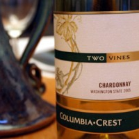 Wine Review--Two Vines Chardonnay 2005