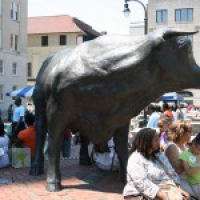 Earth Day and Downtown Durham Walk