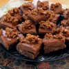 Sweetly Raw Desserts: Chocolate Gingerbread Brownies and Almond Pear Cream Tart Recipes