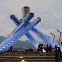 Gastown + Olympic Cauldron Waterfront Park