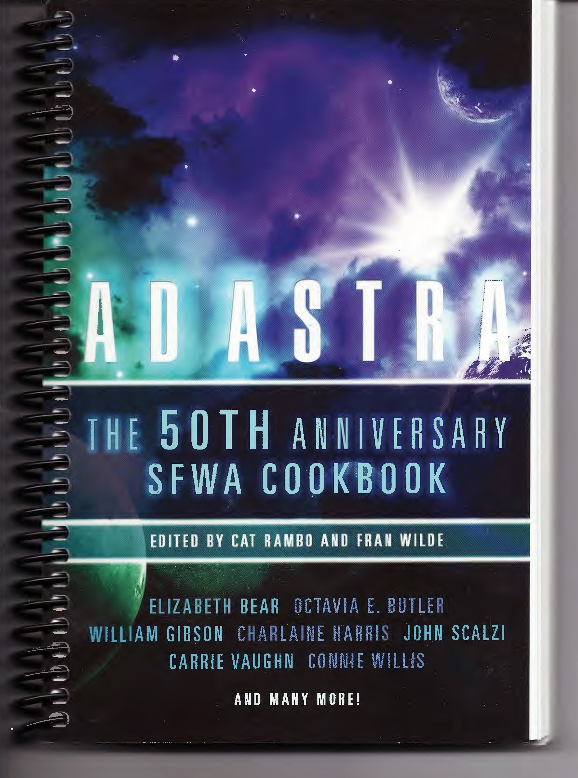 Ad Astra: The 50th Anniversary SFWA Cookbook for Sale!