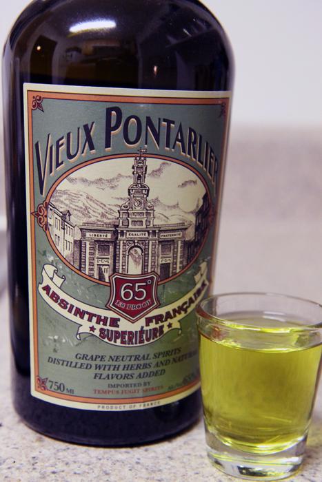 Vieux Pontarlier Absinthe Française Superiéure