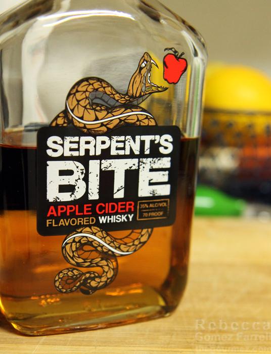 Serpent's Bite Apple Cider Flavored Whisky