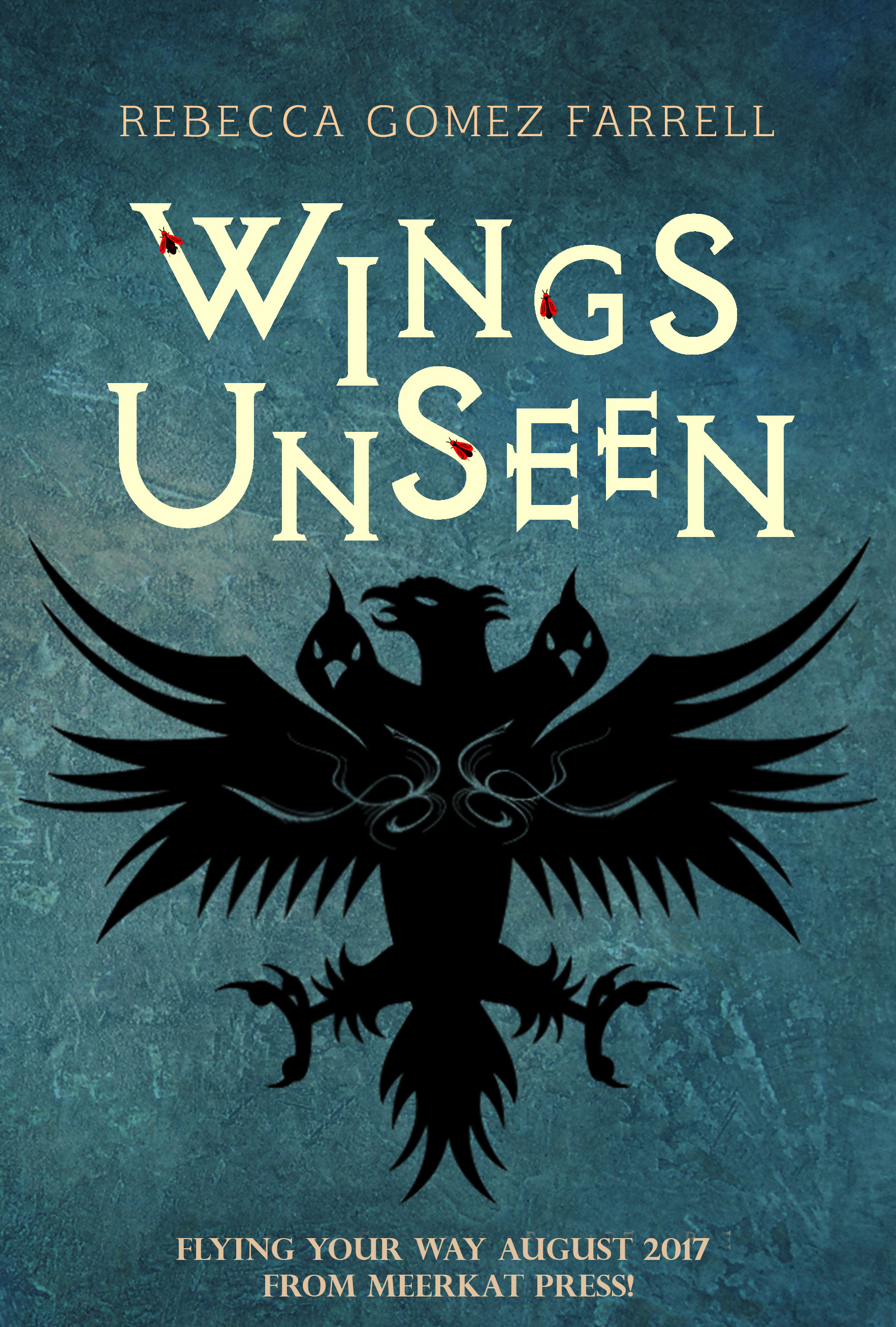 Pre-order my first book! Wings Unseen flying your way in August.